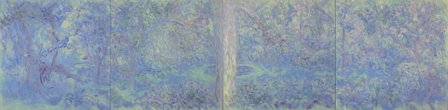 , 'Lily Fountain Quartet,' 2018, Main Street Arts