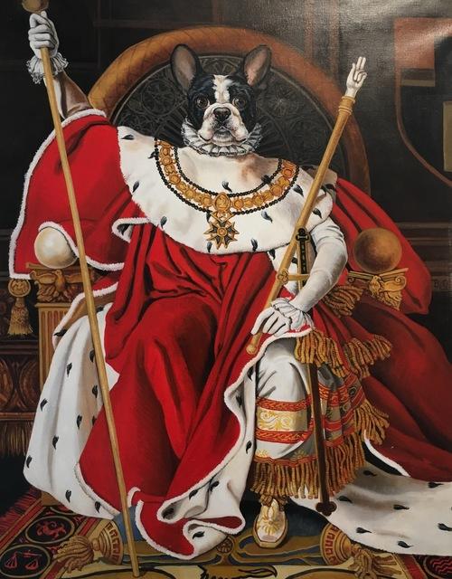 , 'Napoleon Coronation,' , Isabella Garrucho Fine Art