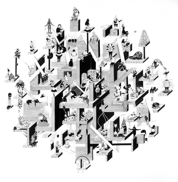 , 'Structure 7,' 2010, MLF | MARIE-LAURE FLEISCH