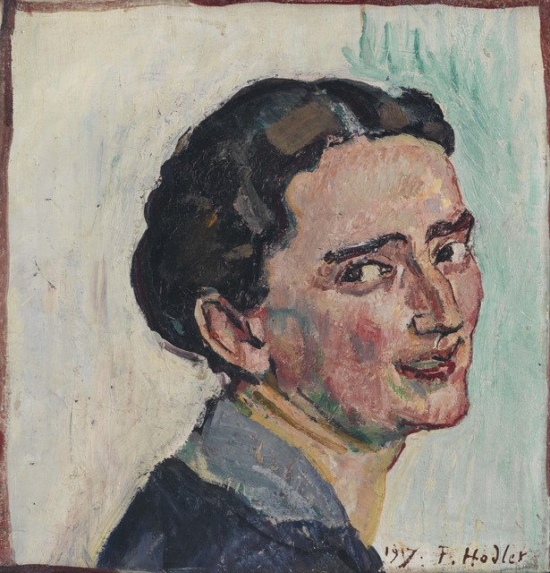 , 'Bildnis Albertine Bernard,' 1917, Galerie Michael Haas