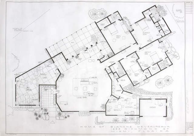 Mark Bennett Dream Houses The Blueprint Drawings 1992