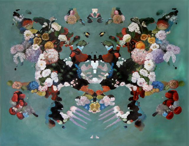 , 'Rorschach Flower Test 1,' 2017, MAIA Contemporary