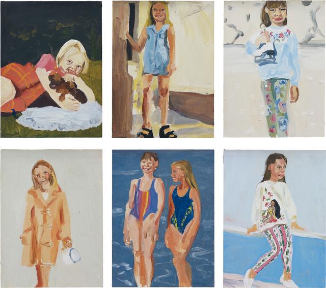 Chantal Joffe, 'Six works: Untitled', 1995, Phillips