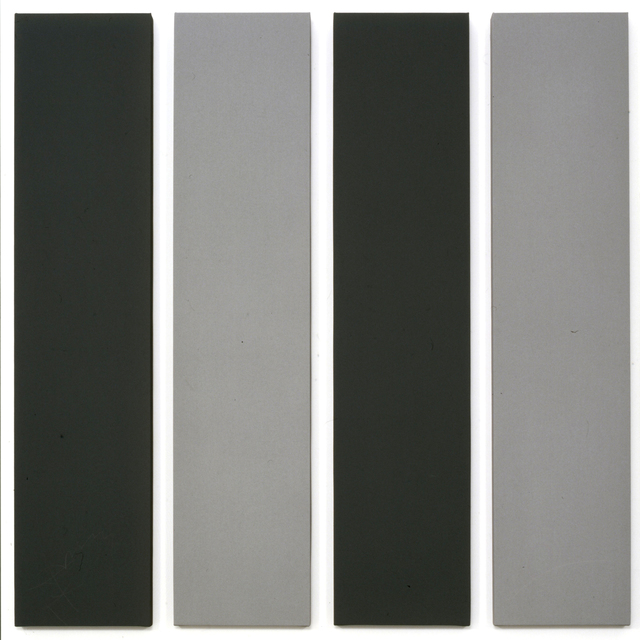 , 'Painting in 4 parts ,' 2000, Miguel Marcos