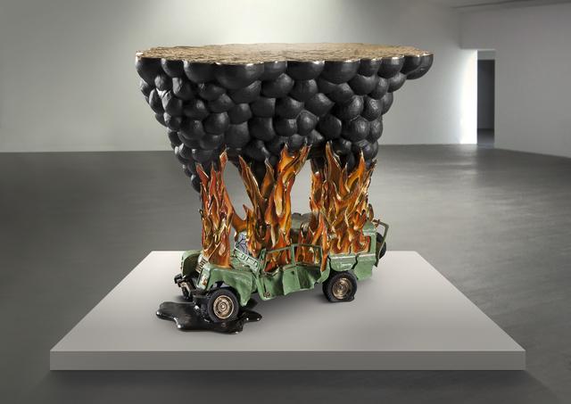 , 'Car Crash,' 2016, Chamber