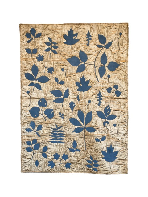 , 'Leaves in Indigo Blue,' 2018, Red Arrow Gallery