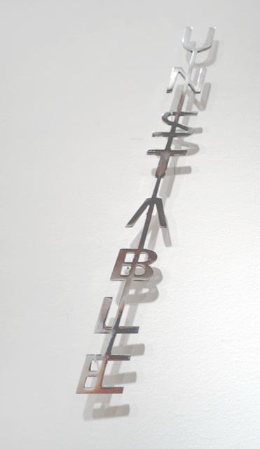 , 'Unstable,' 2018, Galerie Gisela Clement