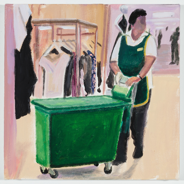 , 'In the Women's Department at Harrod's,' 2018, P.P.O.W