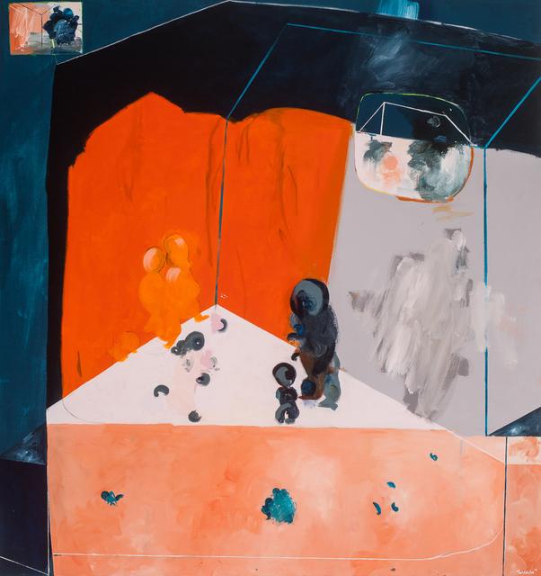 , 'Amphi II,' 2015, Dellasposa