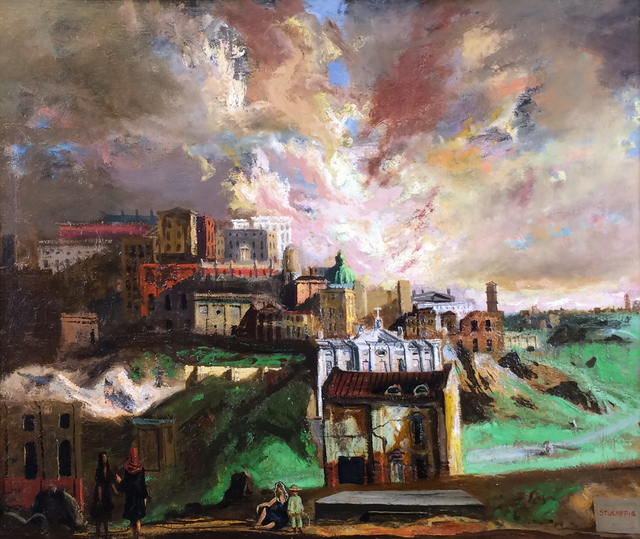 Walter Stuempfig, 'Norristown', ca. 1940s, Avery Galleries