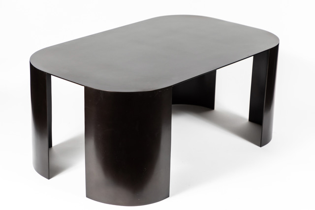 Style of Karl Springer, 'Mid-Century Bronze Coffee Table in the Manner of Karl Springer', ca. 1990, On Madison