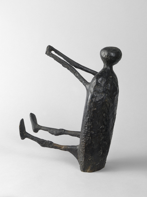 Kenneth Armitage, 'Seated Figure with Arms Raised (small version)', 1957, Connaught Brown