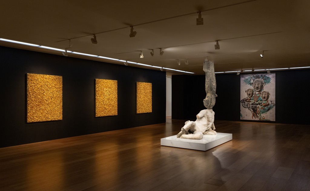 """View of XU ZHEN®'s solo exhibition """"The Glorious"""" at Perrotin Hong Kong, 2019. Photo Ringo Cheung. Courtesy the Artist and Perrotin."""