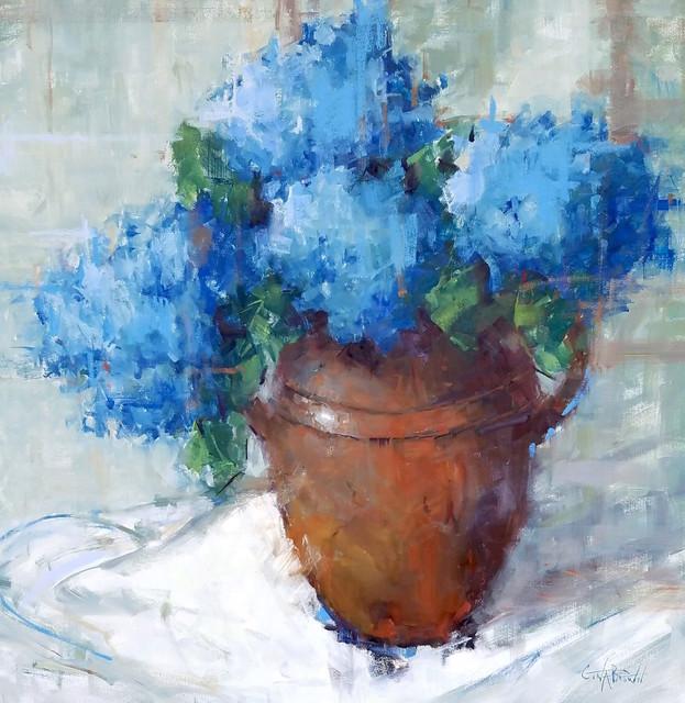 Gina Brown, 'Blue', 2018, Shain Gallery