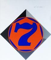 Robert Indiana, Heptagon (Seven) Catalogue Raisonne: Sheehan, 58