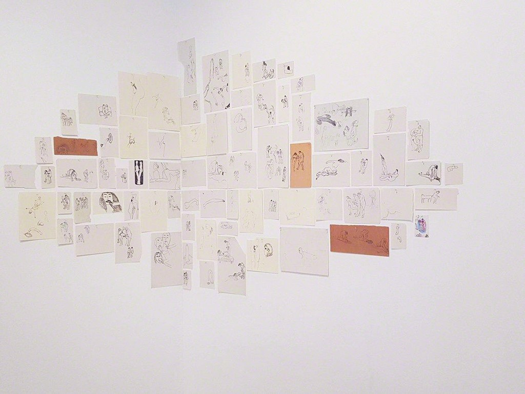 Annette Messager, Mes dessins secrets,1972 - 2011.