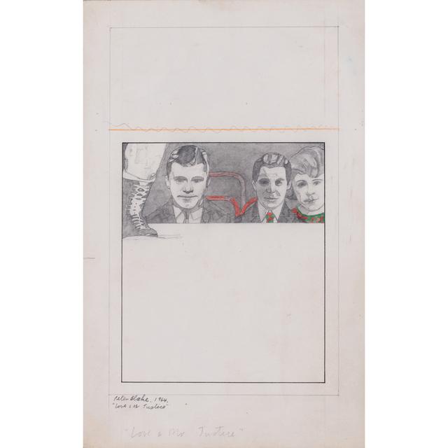 Peter Blake, 'Love & Mr Justice', 1964, PIASA