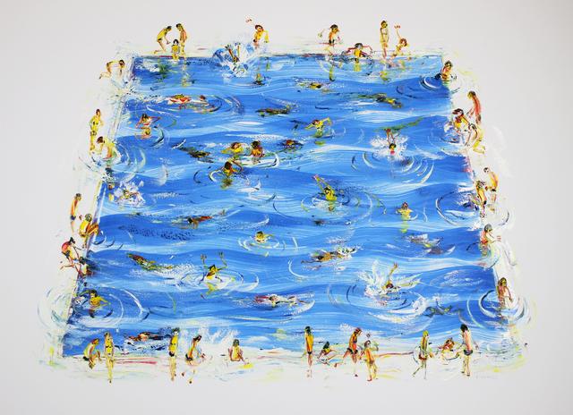 , 'Summer Swimmers III,' 2019, Gormleys Fine Art