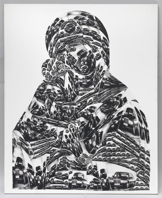 Thomas Bayrle, 'Madonna Mercedes', 1988, Galerie Francesca Pia