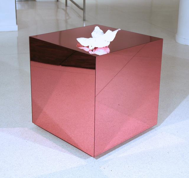 , 'Pink Cube,' 2014, Galleria Ca' d'Oro
