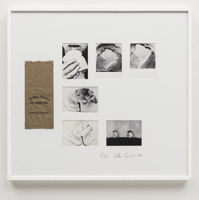 , 'O Pão Nosso de Cada Dia,' 1978, Bergamin & Gomide