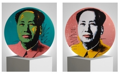 , 'Set of 2 plates (Mao),' , Artsnap