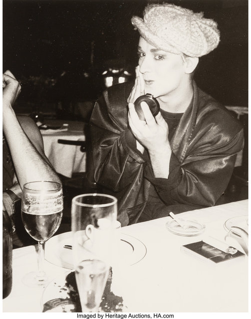 Andy Warhol, 'Boy George', 1985, Photography, Gelatin silver, Heritage Auctions
