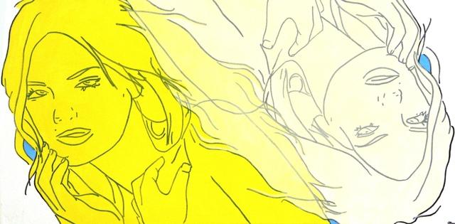 , 'Yellow, Unbleached Titanium,' 2014, Artspace Warehouse