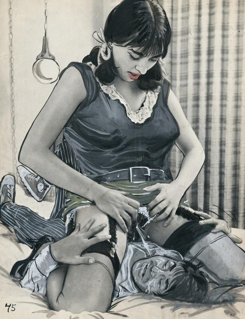 Eric Stanton Der Zeichner dominanter Frauen -
