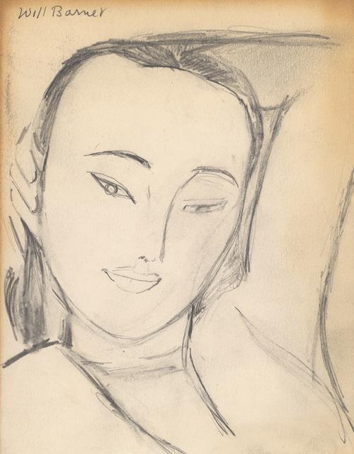 , 'Early Study of Elena I,' , Alexandre Gallery