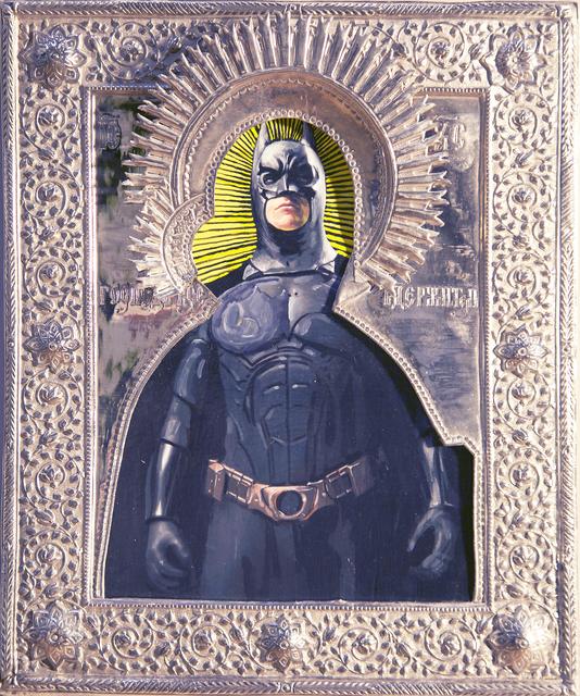 , 'St. Batman,' 2019, Julie Zener Gallery