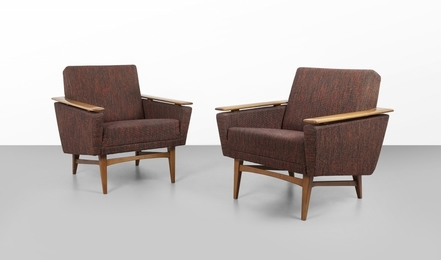 TWO ARMCHAIRS 60s.