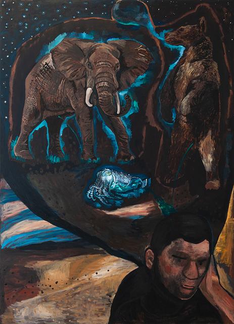 Damien Deroubaix, 'Melancholia II', 2019, Nosbaum & Reding