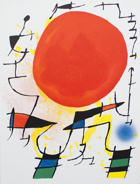 Joan Miró, 'Litografia Original III', 1972, ArtWise