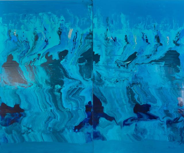 , 'Turquesa II,' 2018, Mario Mauroner Contemporary Art Salzburg-Vienna