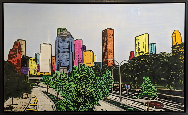 , 'H-Town Skyline 93,' 2019, Archway Gallery
