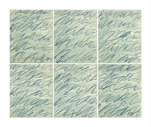 Cy Twombly, 'Roman Notes', Christie's