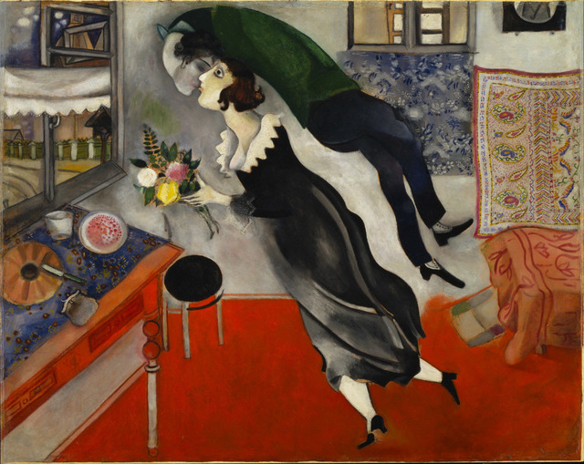 Marc Chagall, 'Birthday (L'anniversaire)', 1915, Guggenheim Museum Bilbao