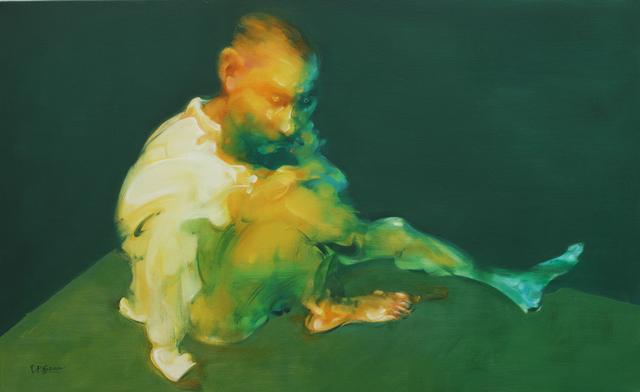 Wu Jianjun, 'Man Sitting in The Corner', 2014, de Sarthe Gallery