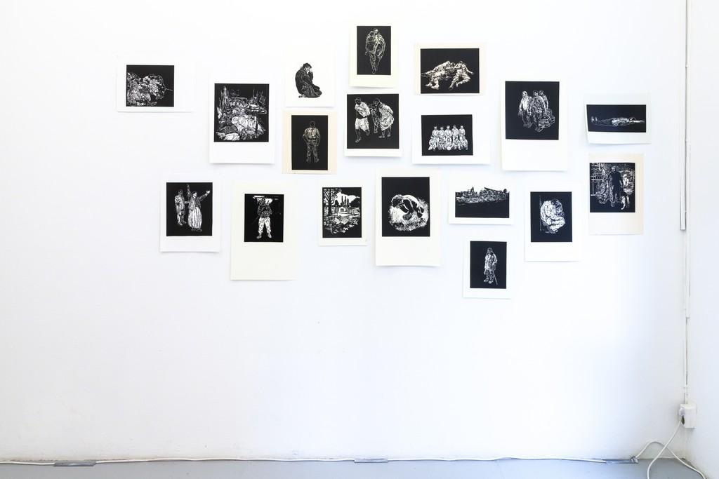 exhibition #4: Stijn Peeters (Eindhoven), Lino Cuts (2003-05)
