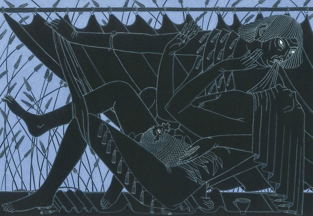 , 'Harvest,' 2019, Darren Knight Gallery