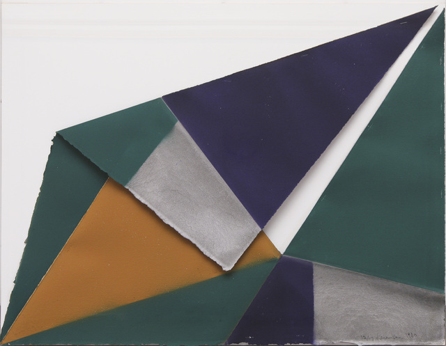 , 'Prussian Blue, Green, Ochre and Gray Series Part 12 of 17 ,' 1980, David Richard Gallery