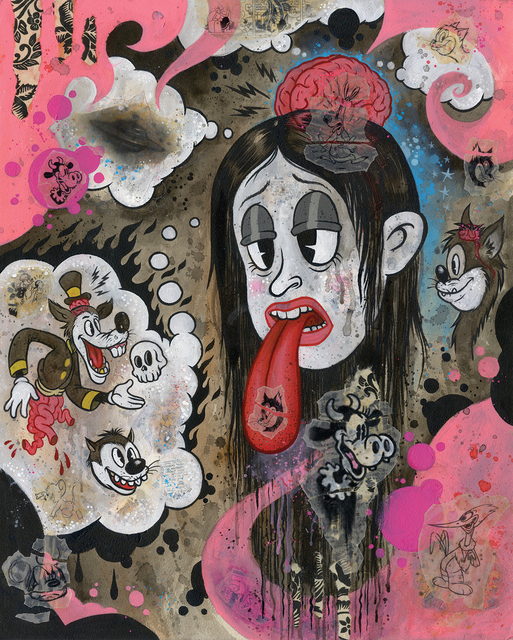 , 'Sapphira's Tragic Visions of the End Times,' 2018, La Luz de Jesus Gallery