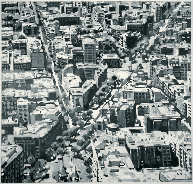 , 'Stadtbild Madrid (Cityscape Madrid),' 1968, San Francisco Museum of Modern Art (SFMOMA)