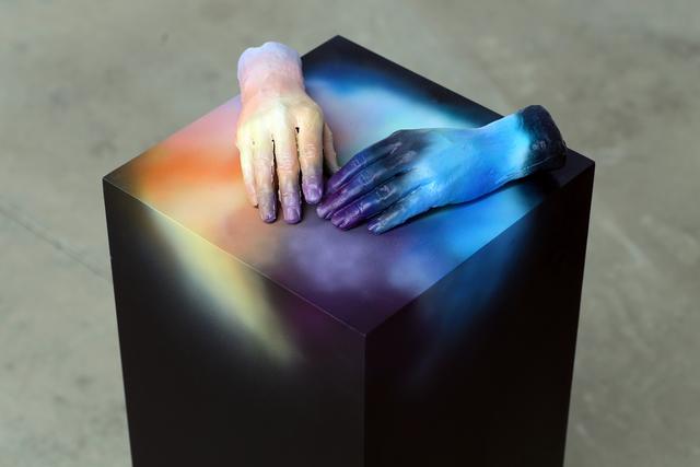 Desirée Holman, 'Psionics  16', 2014, Sculpture, Wood, Acrylic Paint and Plastic, CULT | Aimee Friberg Exhibitions