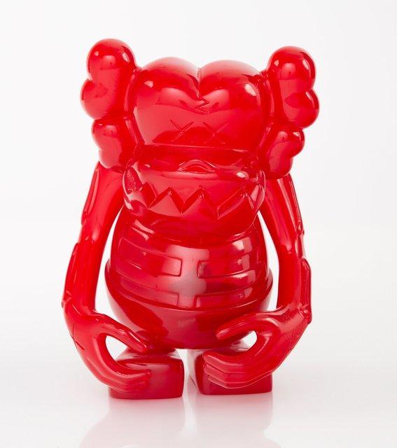 KAWS, 'Skull Kun (Red)', 2006, Sculpture, Cast vinyl, Heritage Auctions