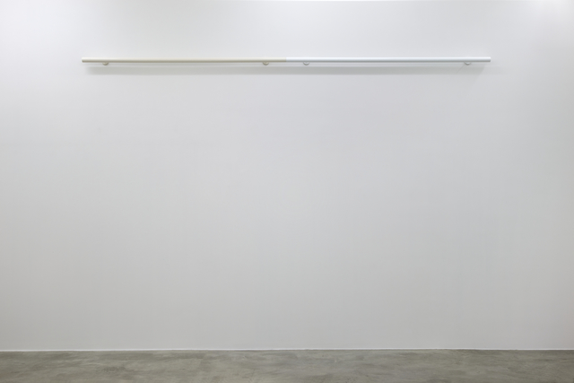 Liam Gillick, 'Restrained Roundrail (White)', 2012, Sculpture, Powder coated aluminum, Casey Kaplan