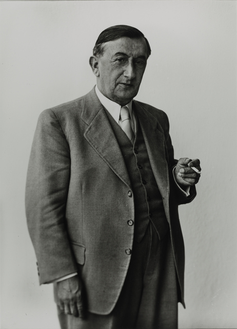 August Sander, 'Mayor of Cologne  [Robert Görlinger], 1954', Galerie Julian Sander
