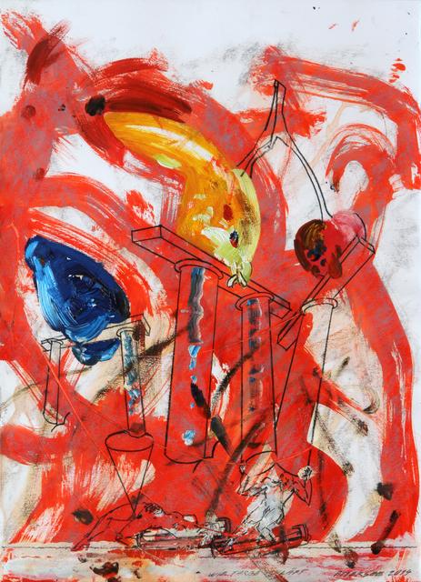 , 'Wie Farbe schläft,' 2014, Galerie Heike Curtze