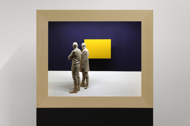 , 'The Yellow Square,' 2017, Lucia Mendoza